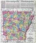 Arkansas, 1857, zoomable map