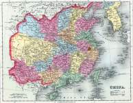 China, 1857, zoomable map