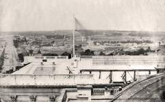 View of Washington DC to the north from the United States Capitol roof, June 27, 1861, zoomable image