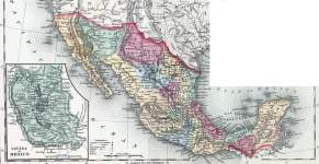 Mexico, 1857, zoomable map