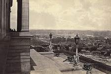 Nashville, Tennessee, 1864, view from the Capitol