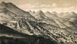 Virginia City, Nevada Territory, 1861, detail, zoomable image