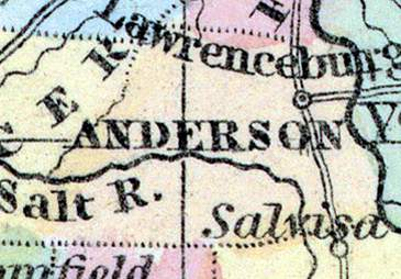 Anderson County, Kentucky, 1857