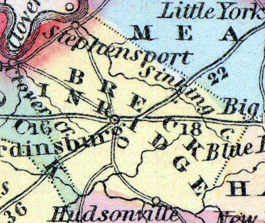 Breckinridge County, Kentucky, 1857