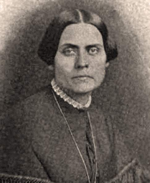 Susan Brownell Anthony, photograph, 1852
