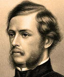 Theodore Winthrop, engraving, detail