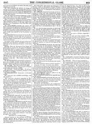 Debate Over Thanks to Gen. Taylor and Army Resolution, US Senate, February 3, 1847 (Page 1)