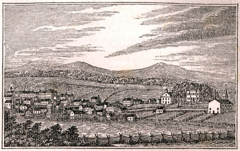 Abingdon, Virginia, circa 1850