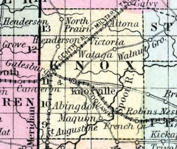Knox County, Illinois, 1857