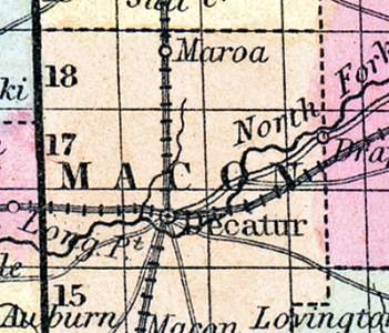 Macon County, Illinois, 1857
