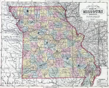 Missouri, 1857, zoomable map