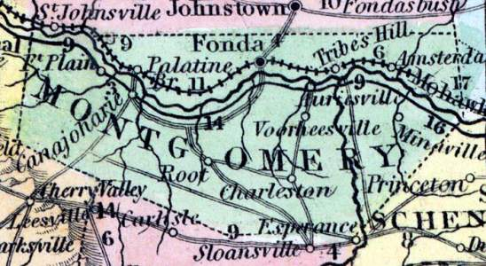 Montgomery County, New York, 1857