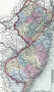New Jersey, 1857, zoomable map