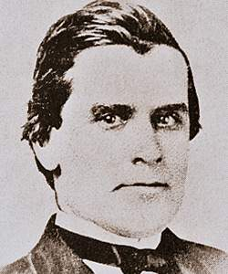 William McKinley, circa 1862, detail