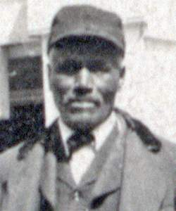 Noah Pinkney, circa 1910, detail