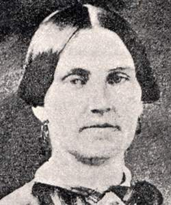 Mary E. Surratt, detail
